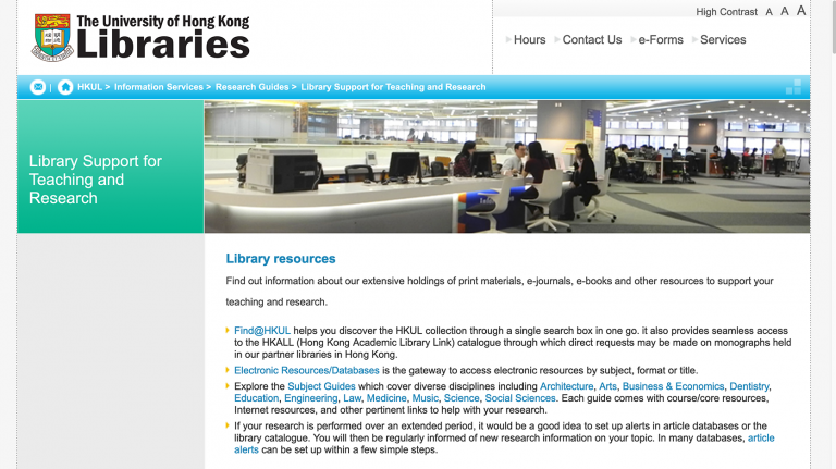 Linking to E-resources