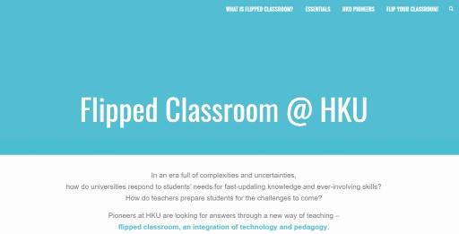 Flipped Classroom @ HKU