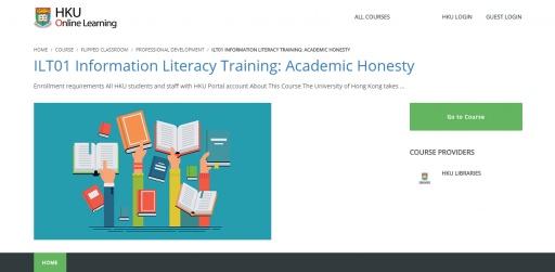 ILT01 Information Literacy Training: Academic Honesty