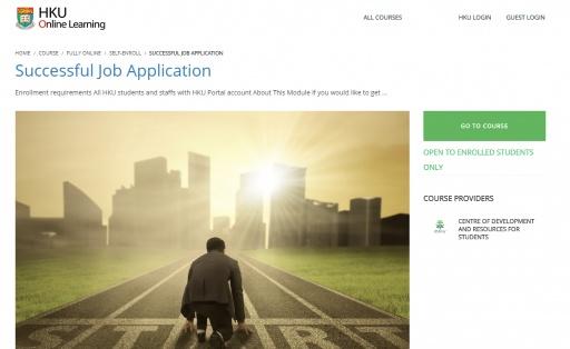 Successful Job Application
