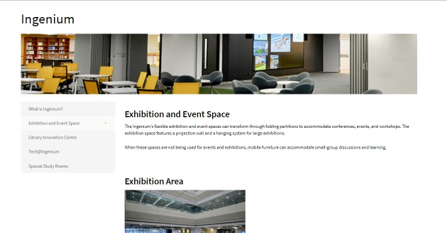 Exhibition and Event Space