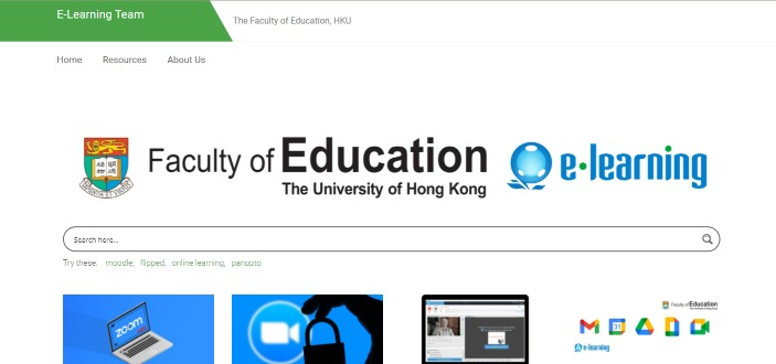 Faculty of Education e-Learning