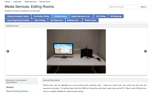 Editing Rooms