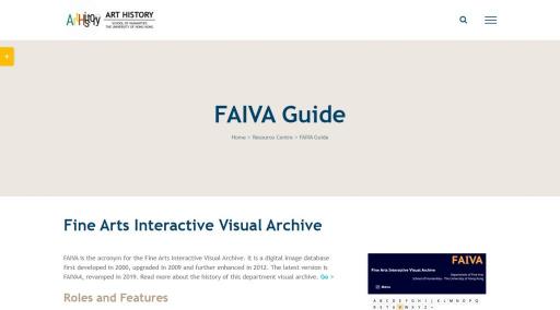 FAIVA Digital Image Database