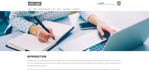 Designing Online Courses
