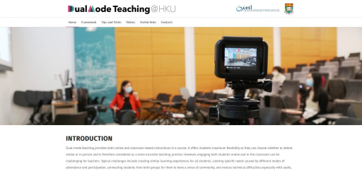 Dual Mode Teaching @ HKU